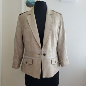 Vintage The Look Randolph Duke Blazer Jacket Sz 8